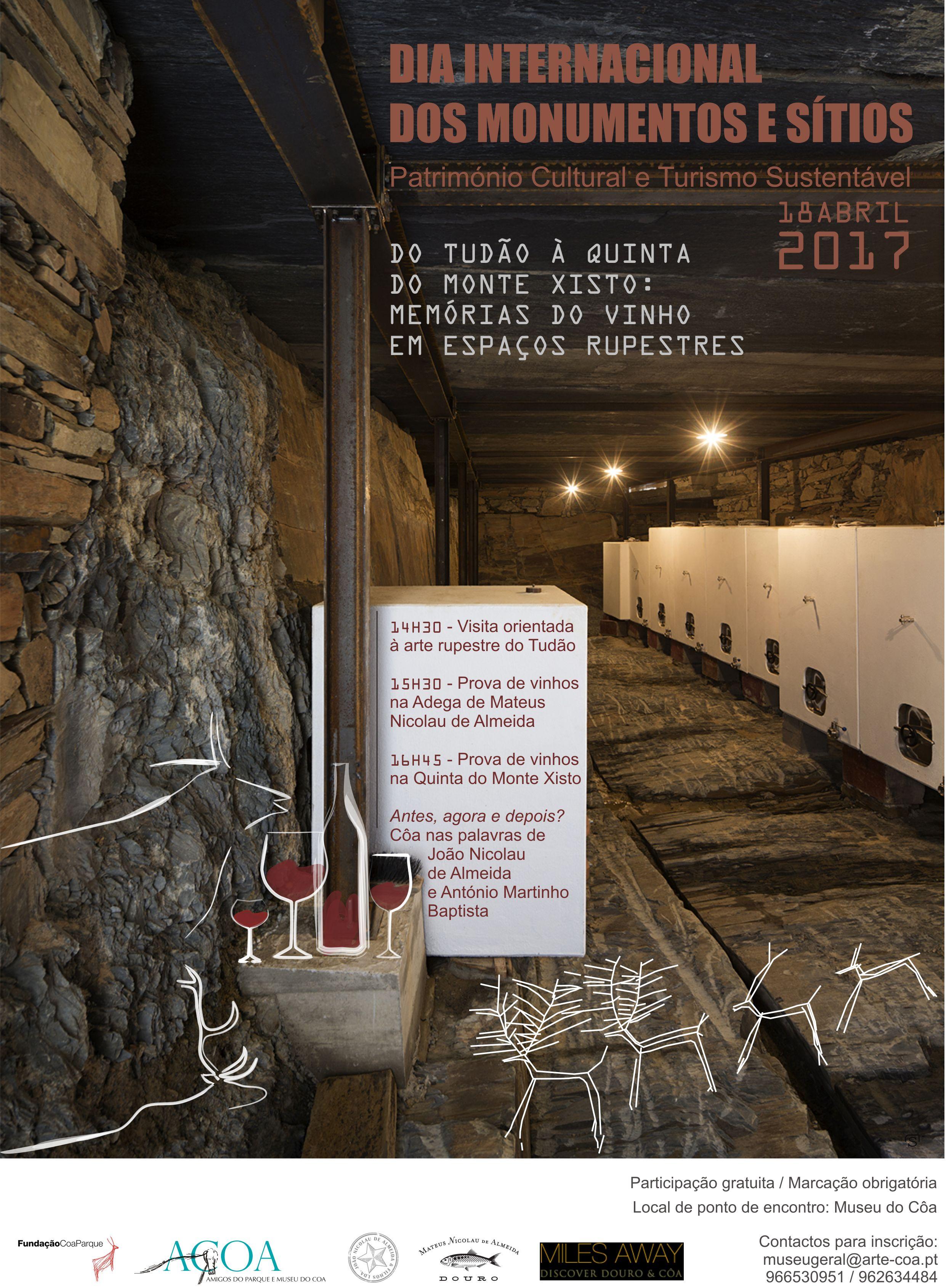 Do Tudão à Quinta do Monte Xisto: memórias do vinho em espaços rupestres